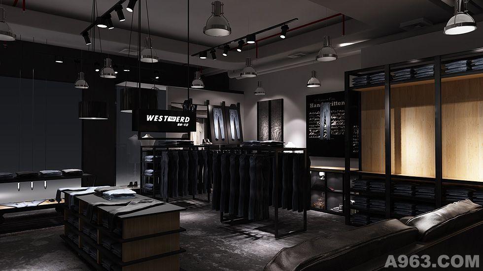 西部牛仔 - 商業空間 - 深圳室內設計網_深圳室內設計