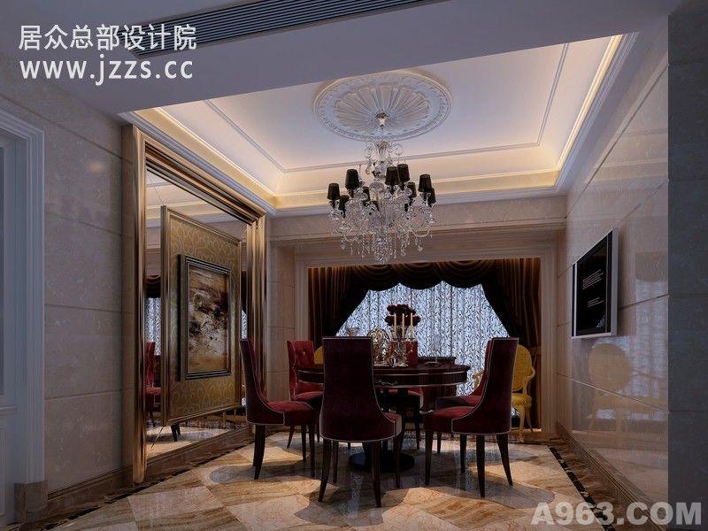 欧式风格-四季山水 - 别墅豪宅 - 深圳室内设计网__.