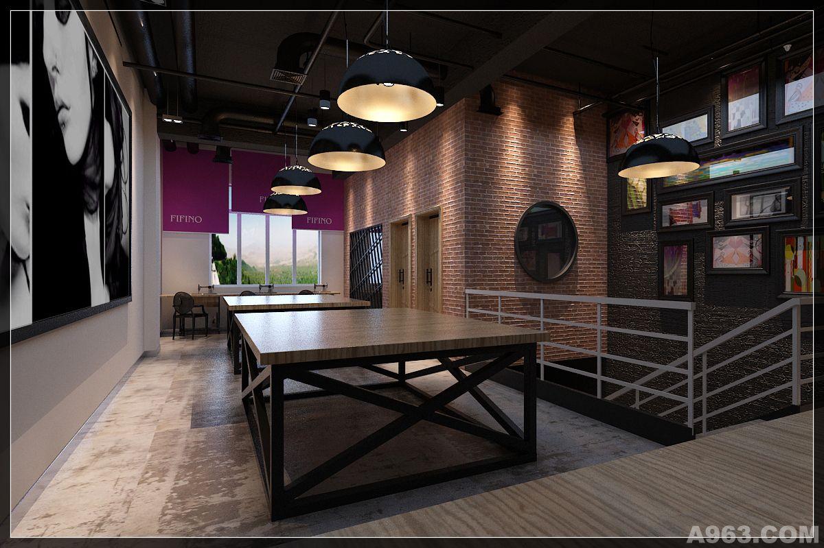 loft办公室 - 公共空间 - 深圳室内设计网_深圳室内
