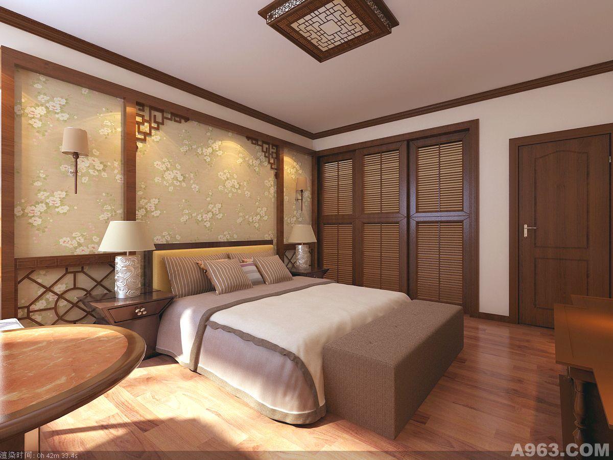 写意新中式 - 家装设计 - 深圳室内设计网_深圳室内