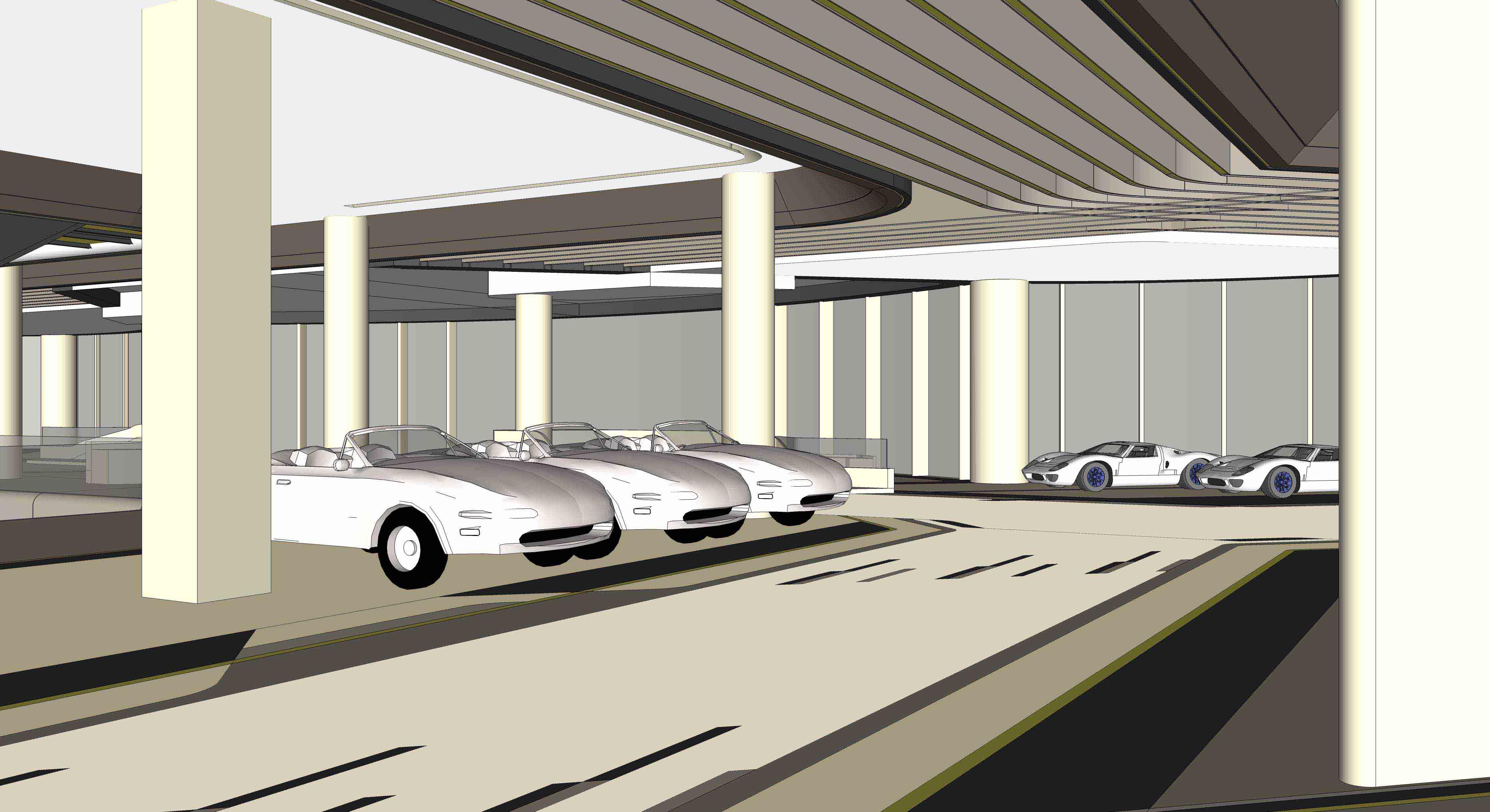 澳康达名车广场设计 - 商业空间 - 深圳室内设计网__.