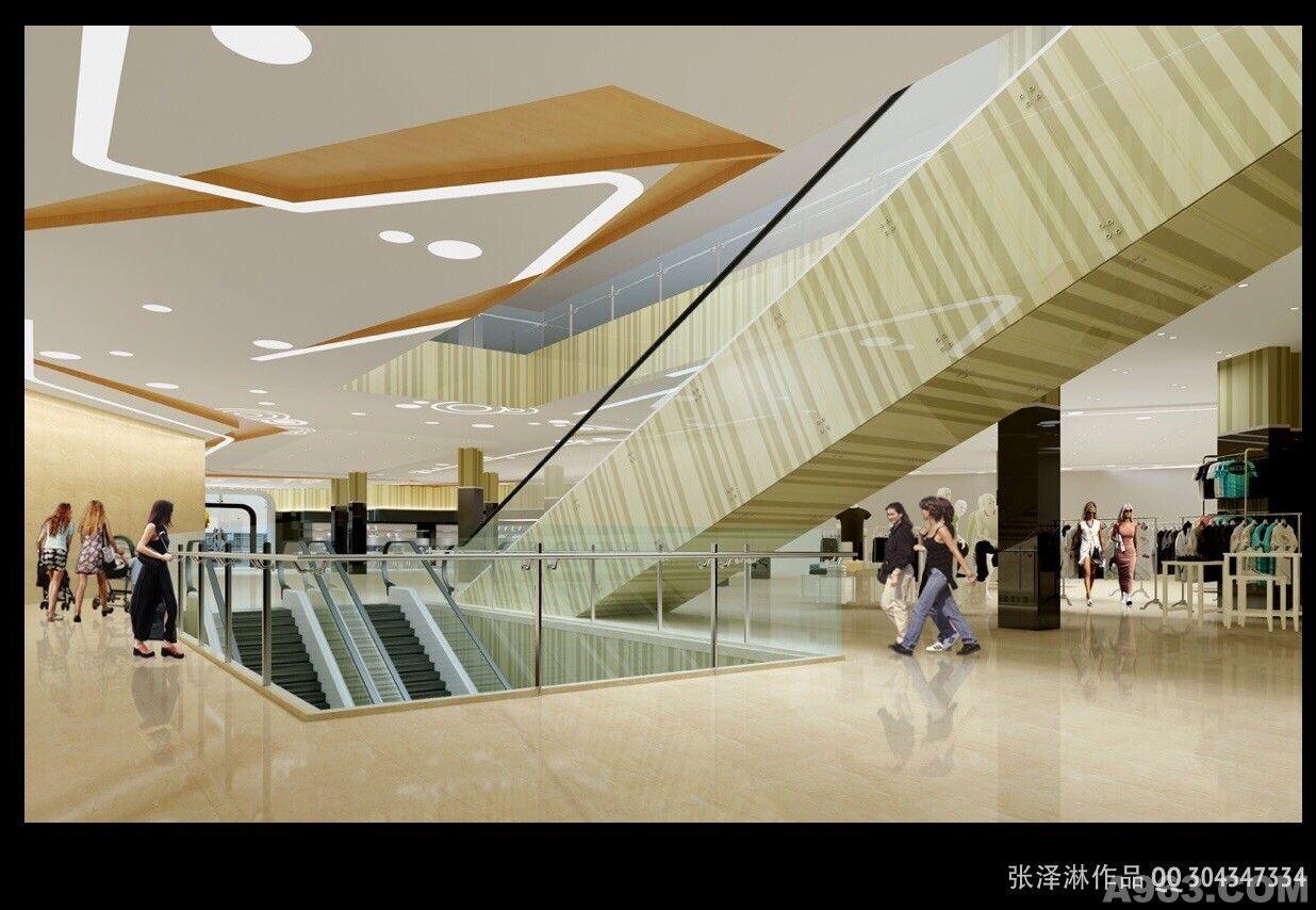 深圳吉百家商场设计