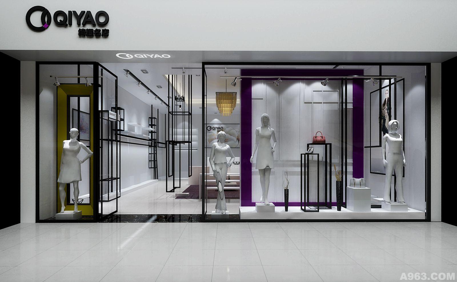 老客户的新服装品牌形象店设计,该品牌的配饰比较多,鞋、帽、包、巾样样都有, 让TA们与服装搭配在一起不是什么难事,让TA们的销量提高,就需要再空间次序上好好想想了。 这个服装形象店,最大的难题是物件太多,设计好容易,但陈列上比较难掌控。 这次的形象设计我们在空间规划的过程中让陈列变成一件非常容易的事啦!