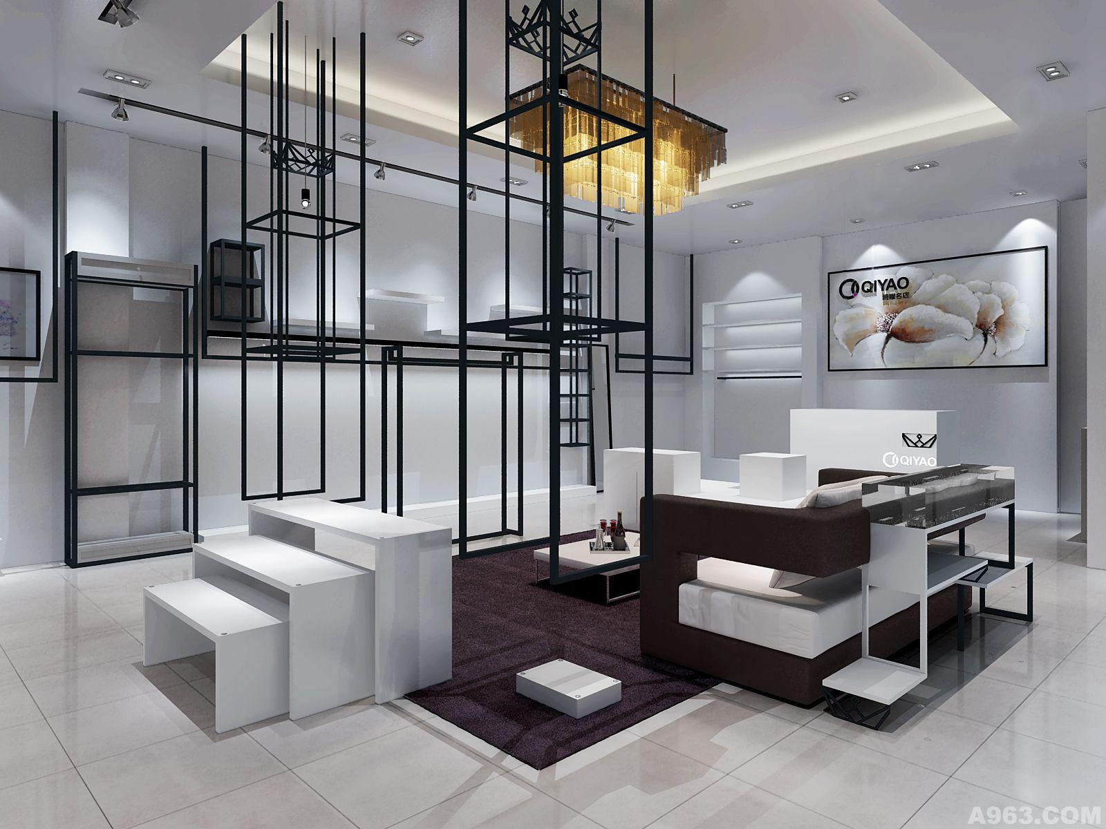服装品牌奇耀名店卖场展示空间视觉形象设计说明