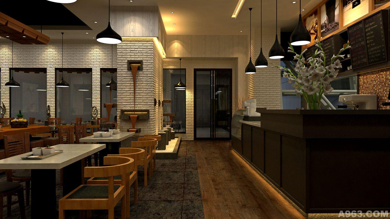 咖啡厅商业餐饮空间室内形象设计