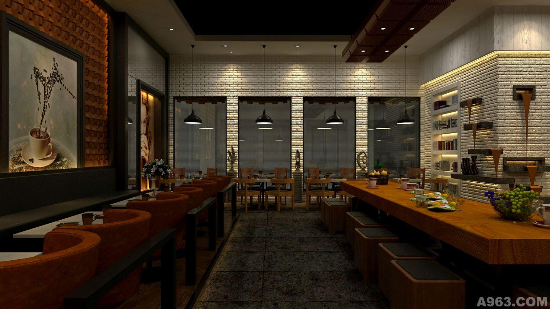 (商业空间设计---餐饮空间ppt图1) 商业空间设计的概念问:商业空间图片