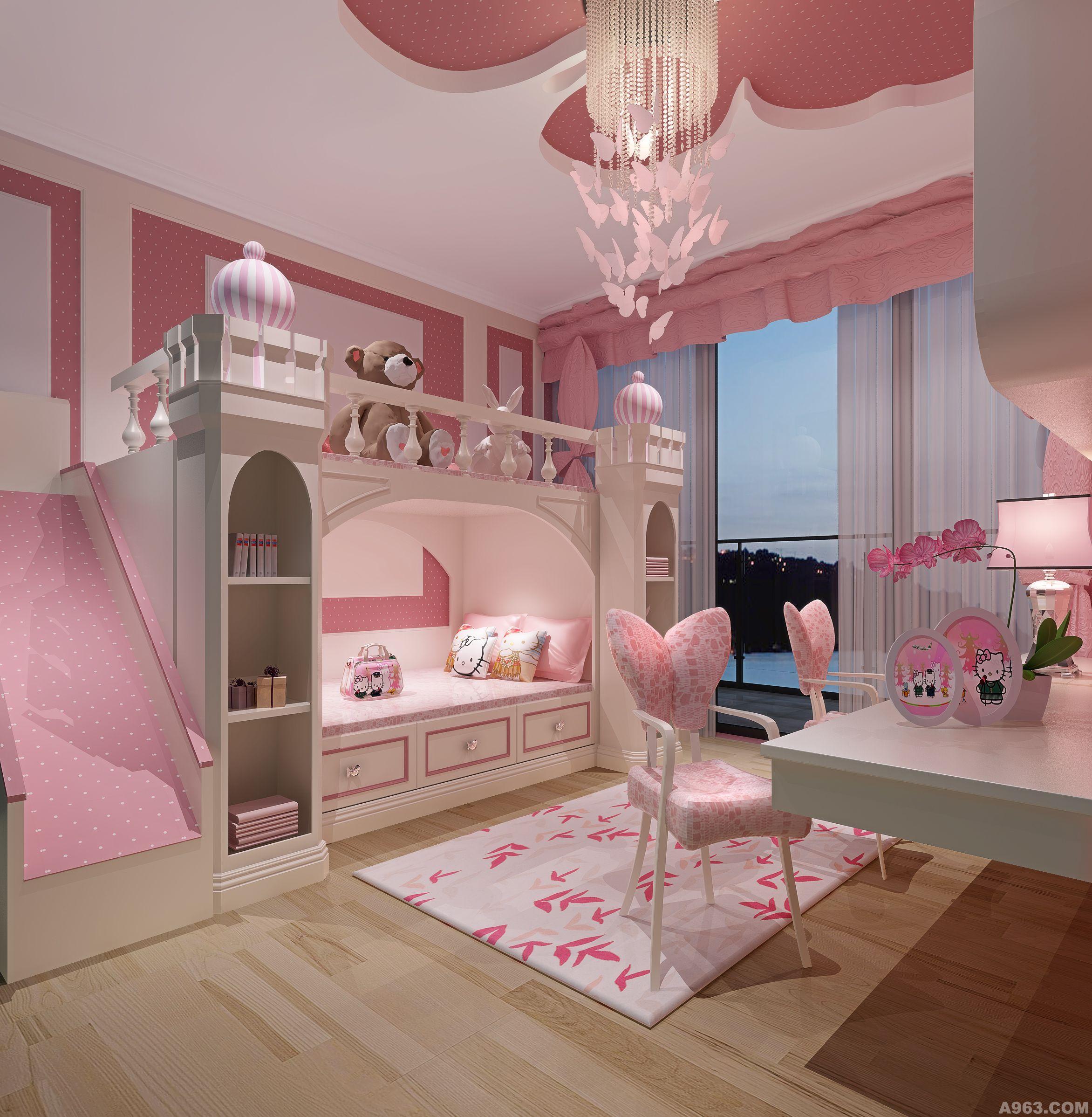 儿童房设计方案分享展示