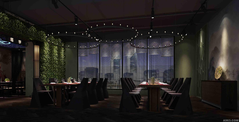 宴会厅门头-深圳市贵友京院餐厅室内设计