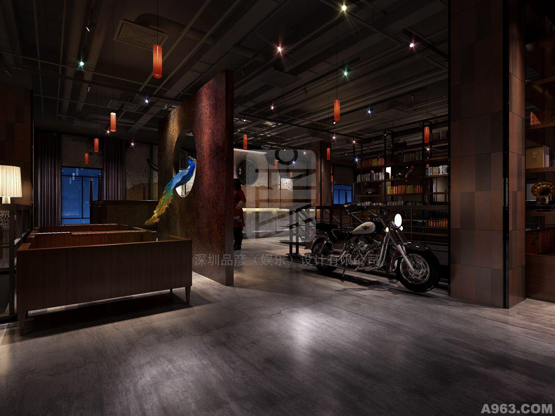 中华室内设计网 作品中心 公共空间 酒吧设计 > 杨彦作品  精神,风格