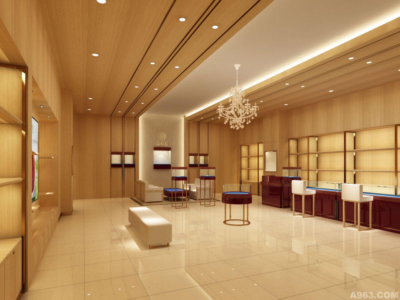 中华室内设计网 作品中心 公共空间 商业空间 > 广东俊禾装饰设计工程