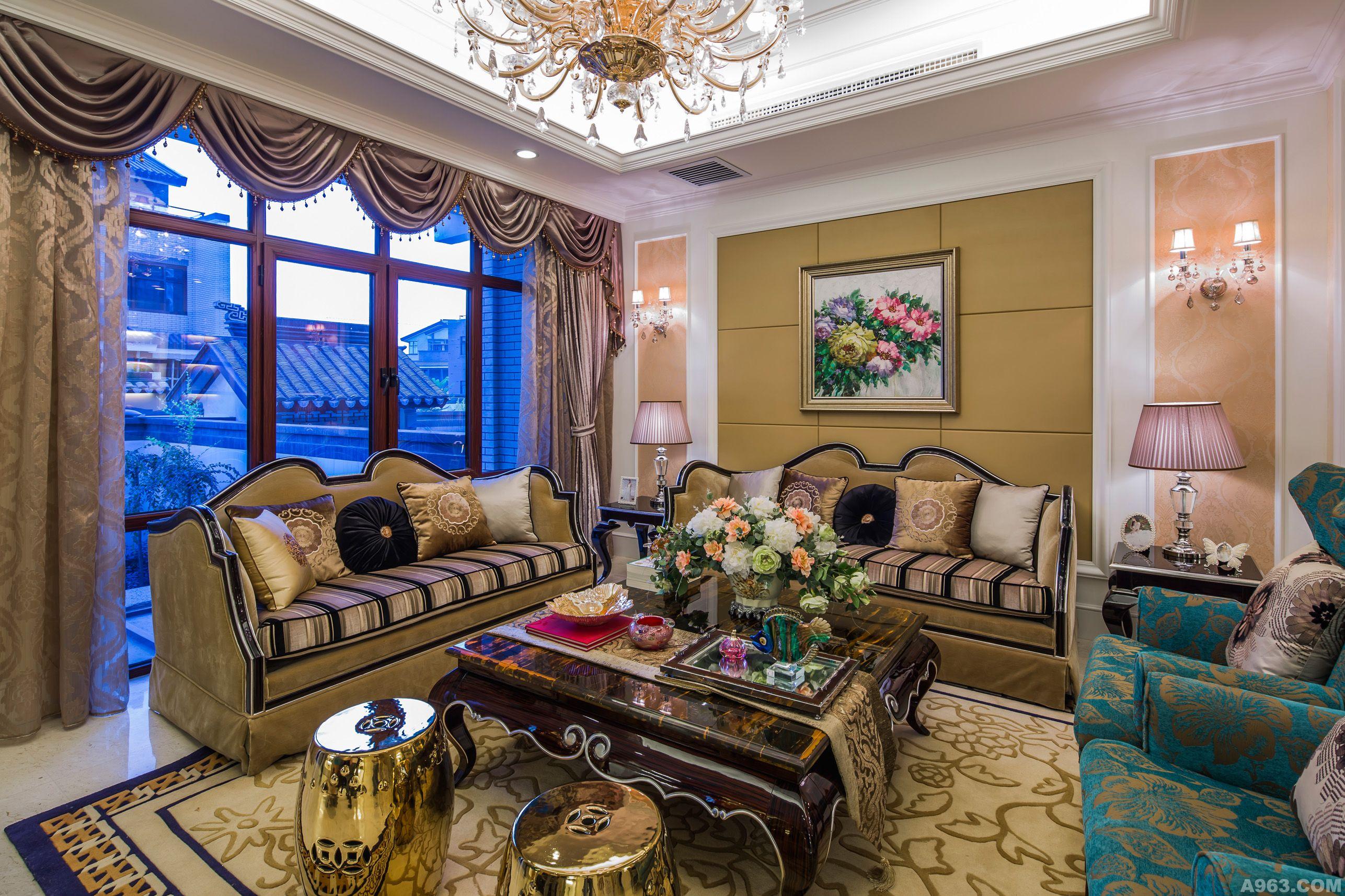 新疆库尔勒江南城欧式双拼别墅