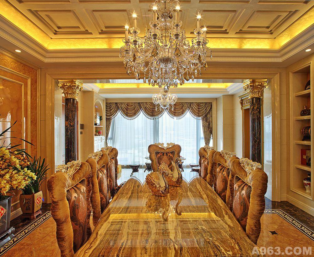 深圳湾君汇新天新古典欧式奢华风格