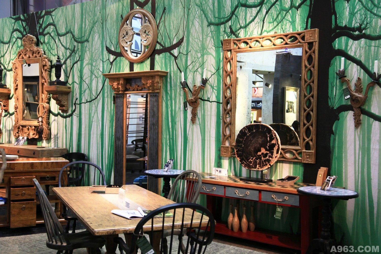 巴比伦空中花园设计 - 展示空间 - 深圳室内设计网__.