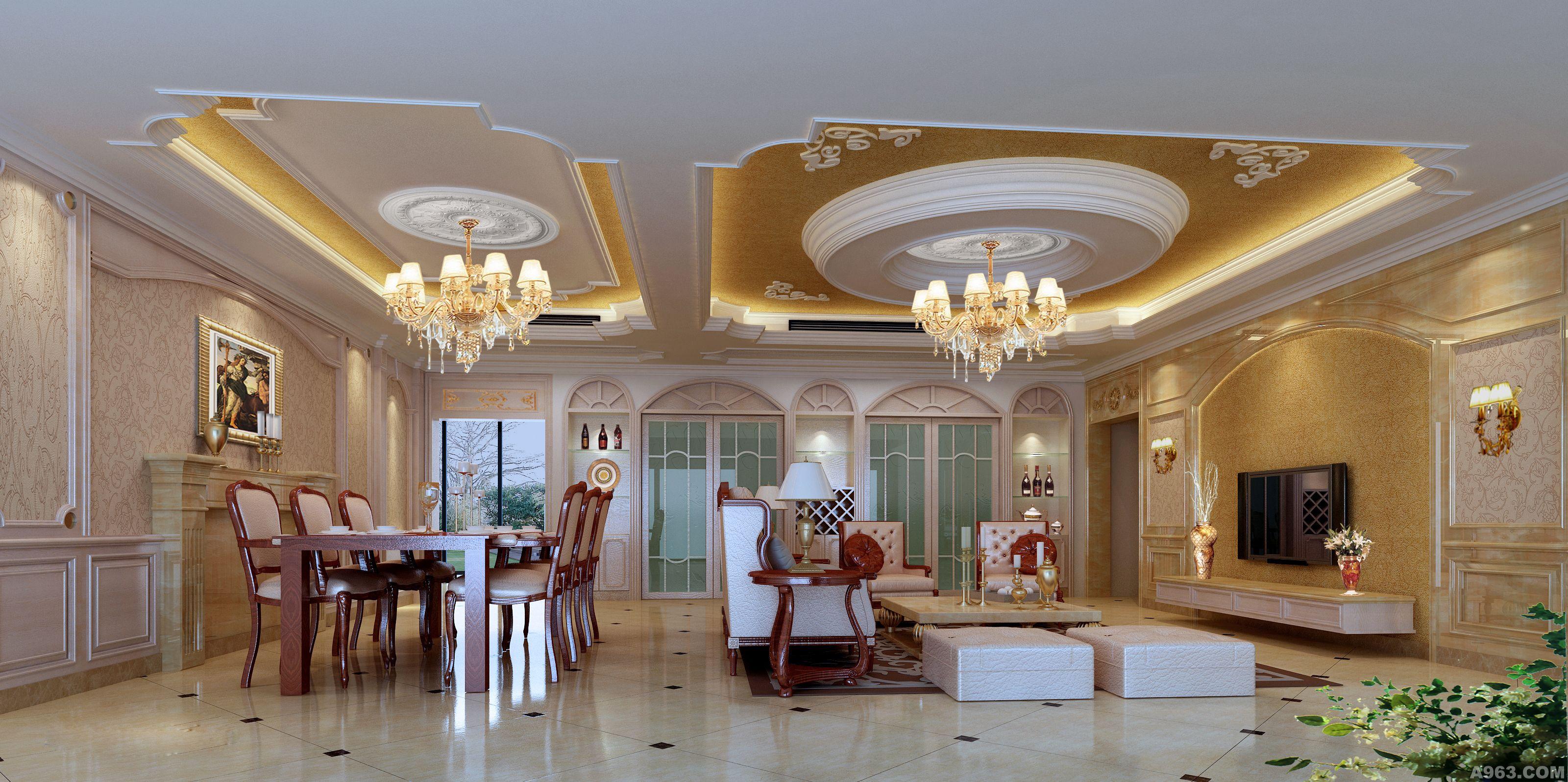 130平方房子设计客厅