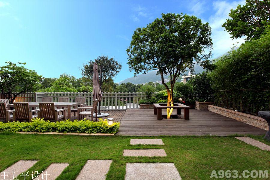 万科东海岸别墅景观花园设计