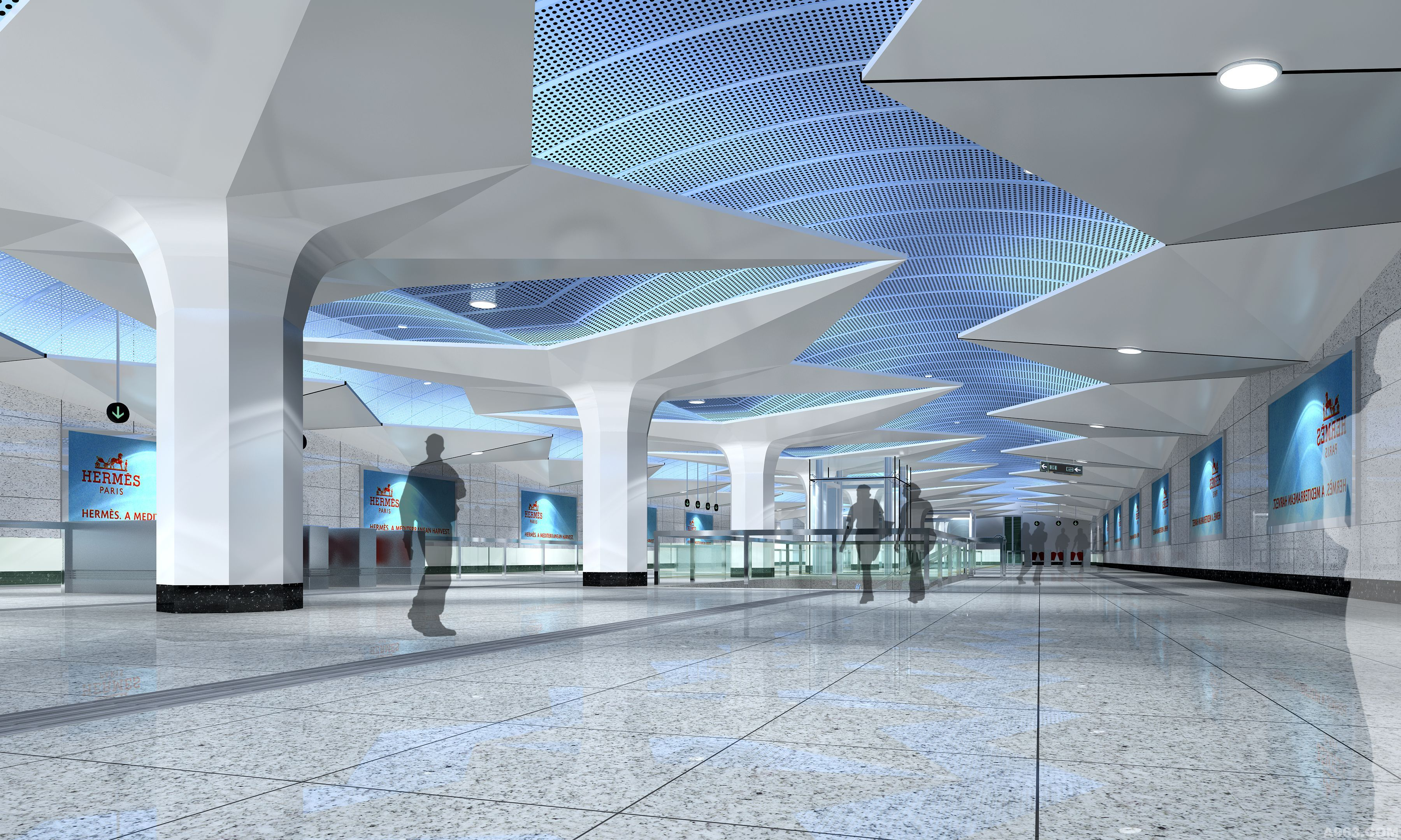大连地铁 - 交通空间 - 彭俊华设计作品案例