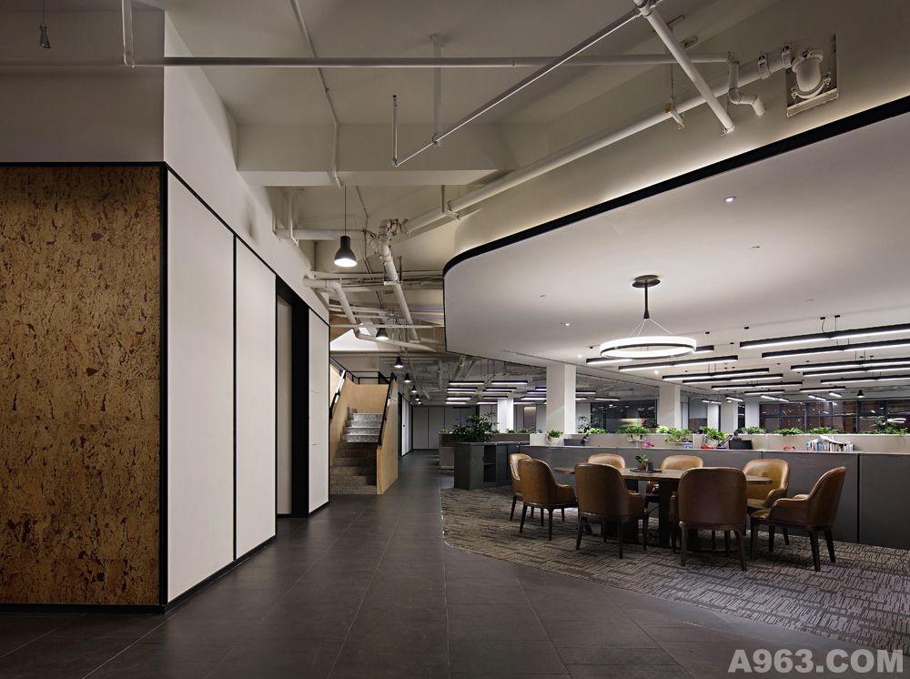 刘建辉作品成都万科办公楼设计--空间完成照片