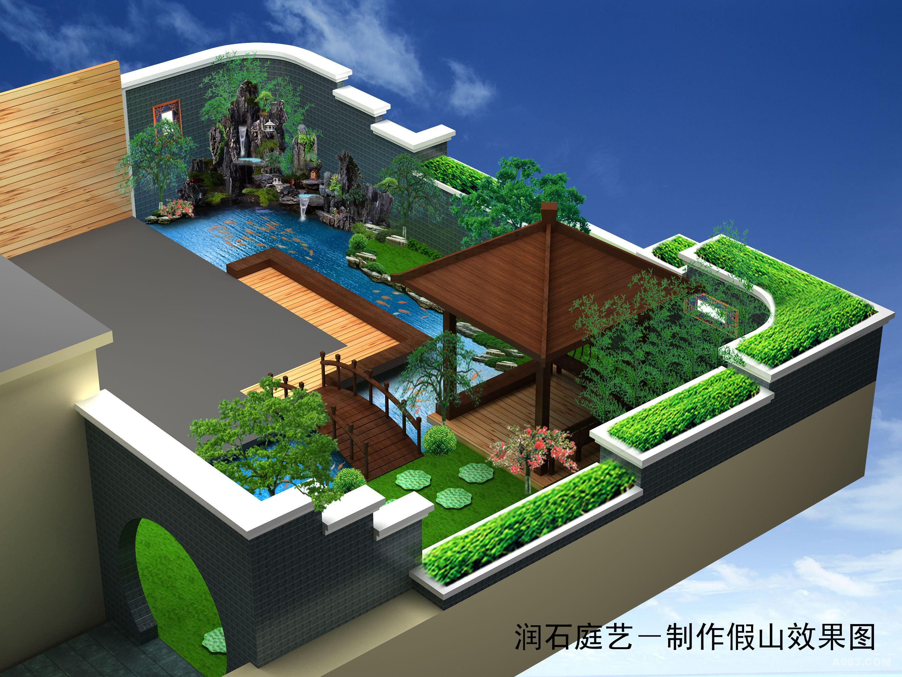 頂樓花園 - 景觀 - 第2頁 - 羅院貴設計作品案例