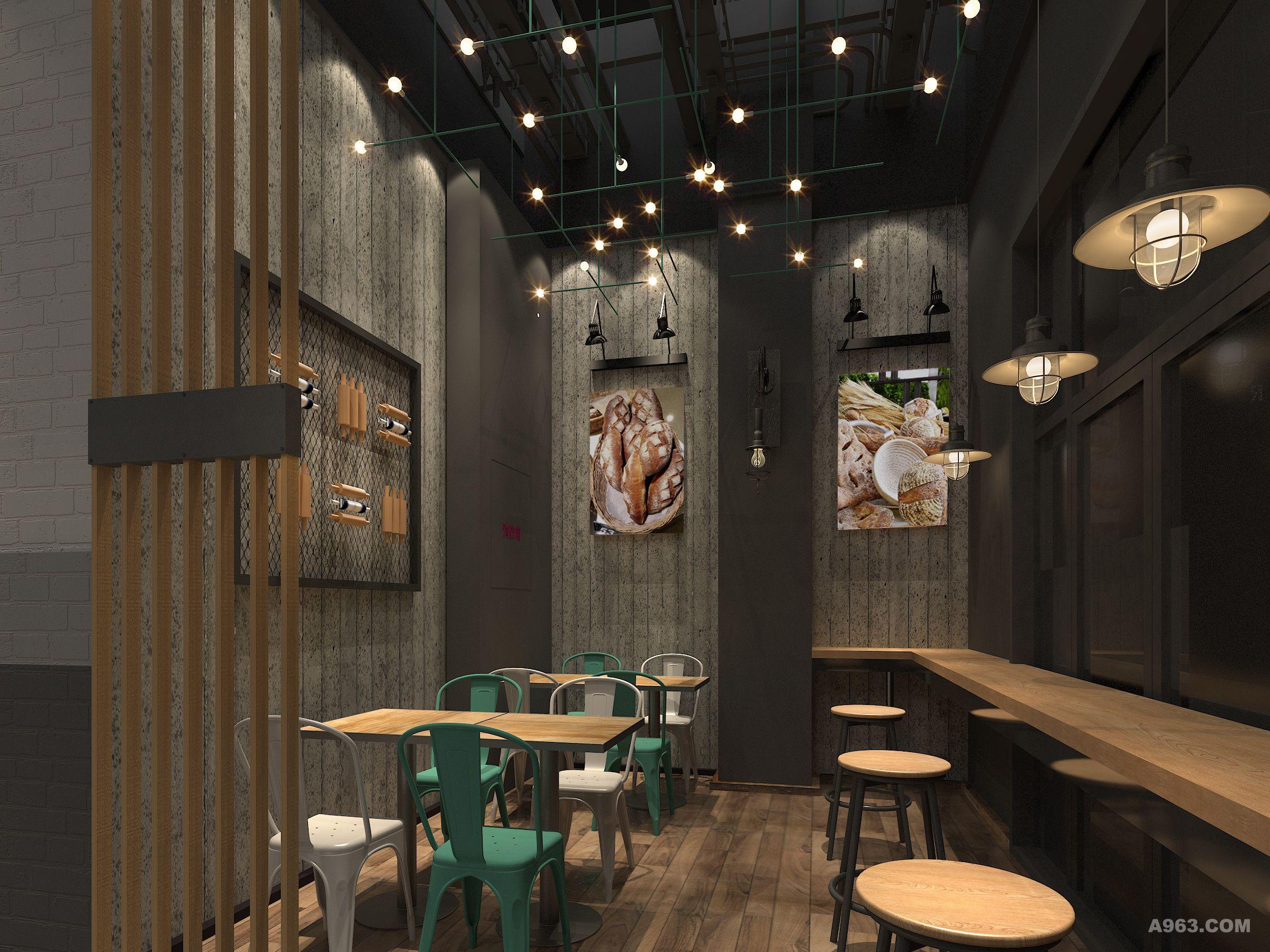 烘焙店设计 - 餐饮空间 - 第3页 - 徐贇设计作品案例图片