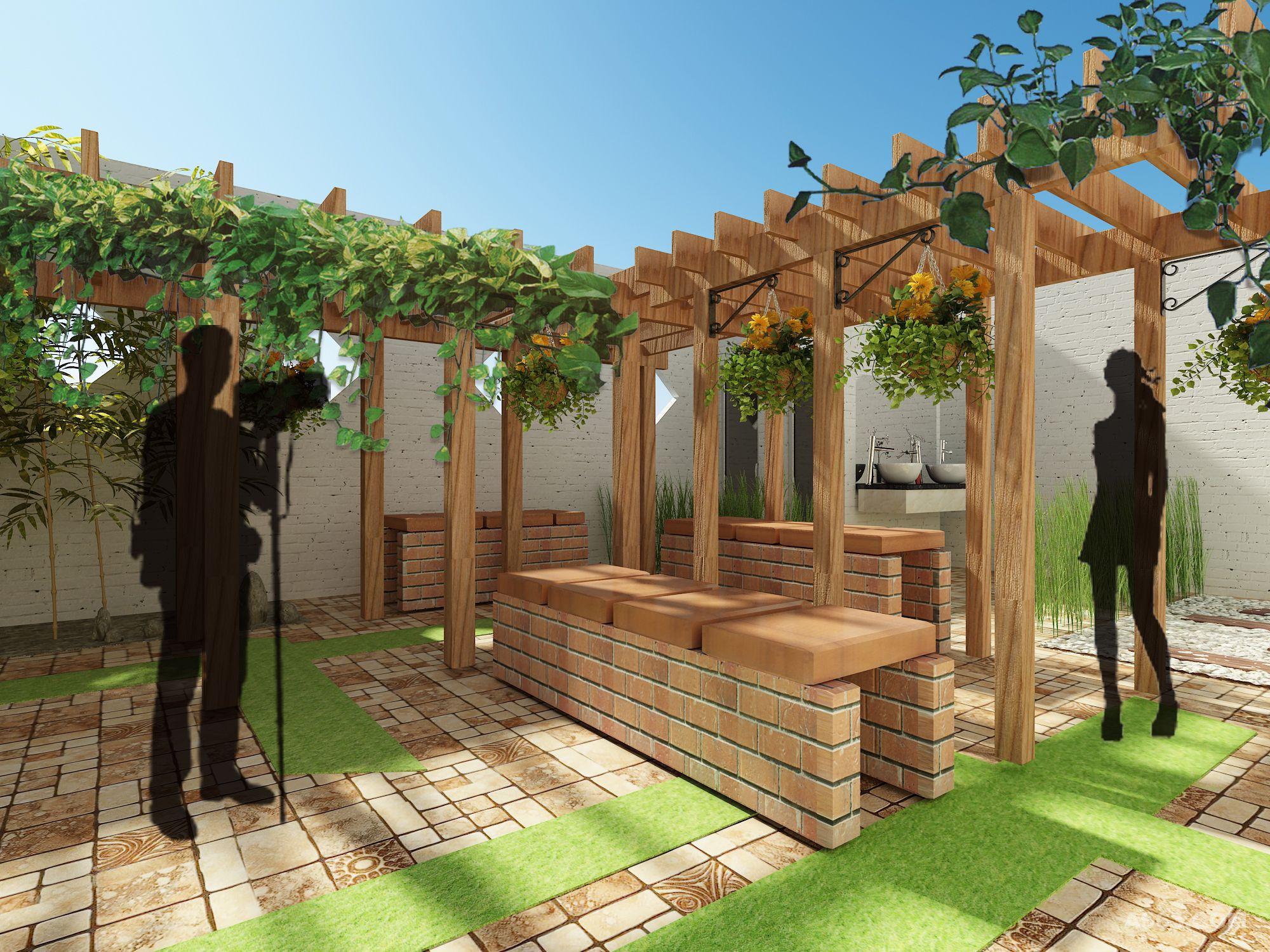 六十平院子设计图片