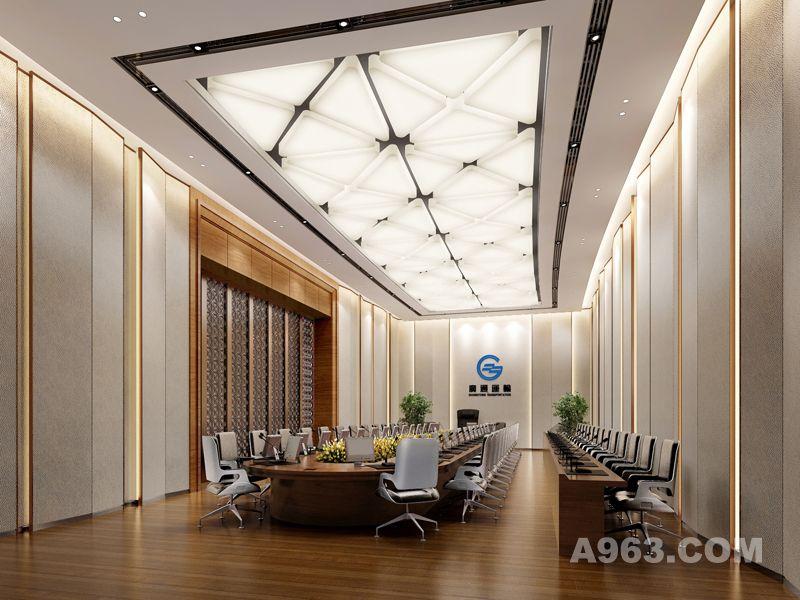 吴开城设计作品——办公室空间——大会议室
