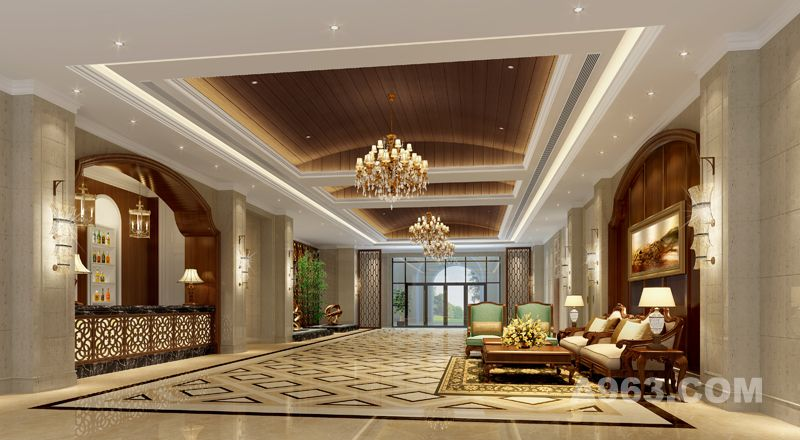 吴开城设计作品——酒店空间——酒店大厅
