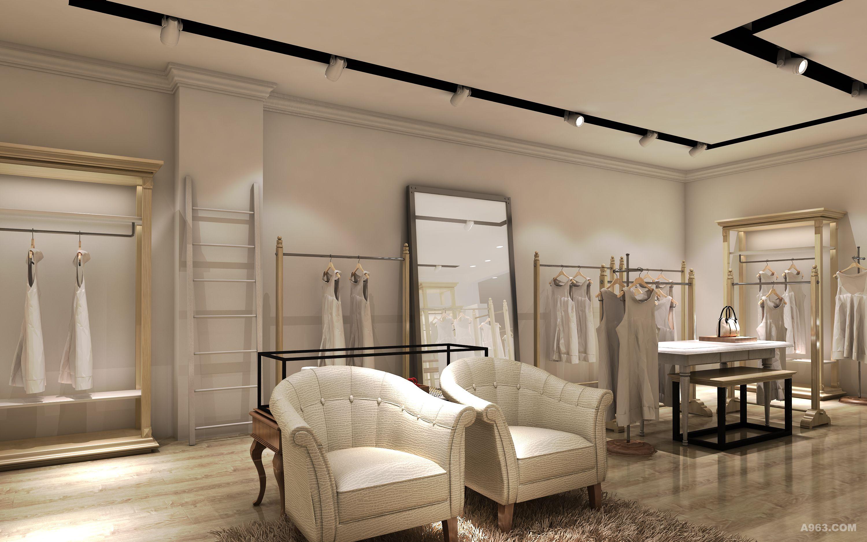 女式服装店设计 - 商业空间 - 深圳利元设计工作室
