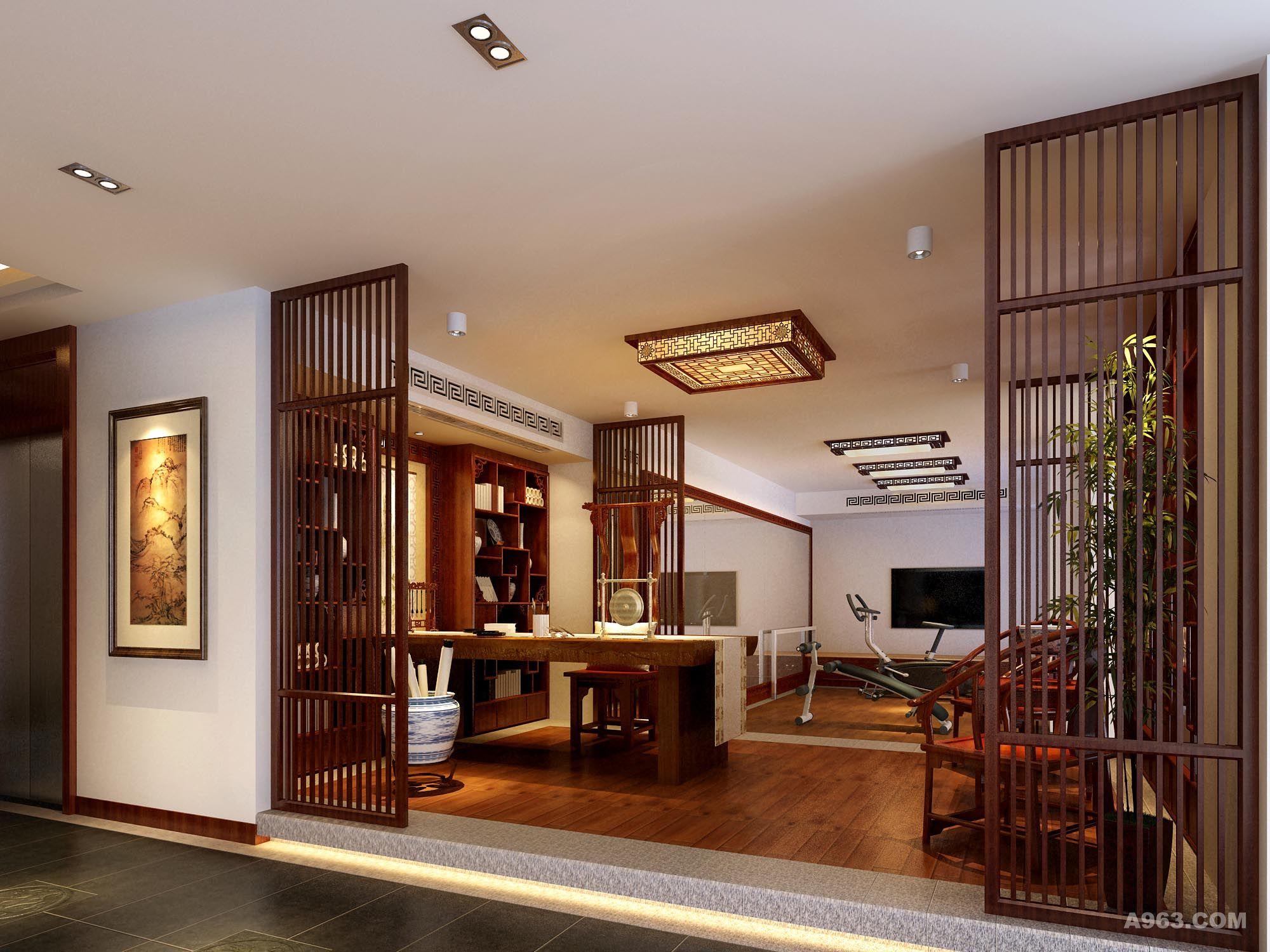 深圳曦城-独栋中式别墅设计