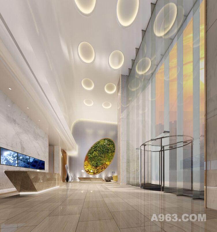 唐山勒泰中心塔楼及住宅公区设计-南粤设计