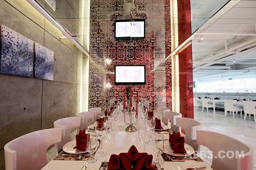 深圳蓝玛赫西餐厅设计