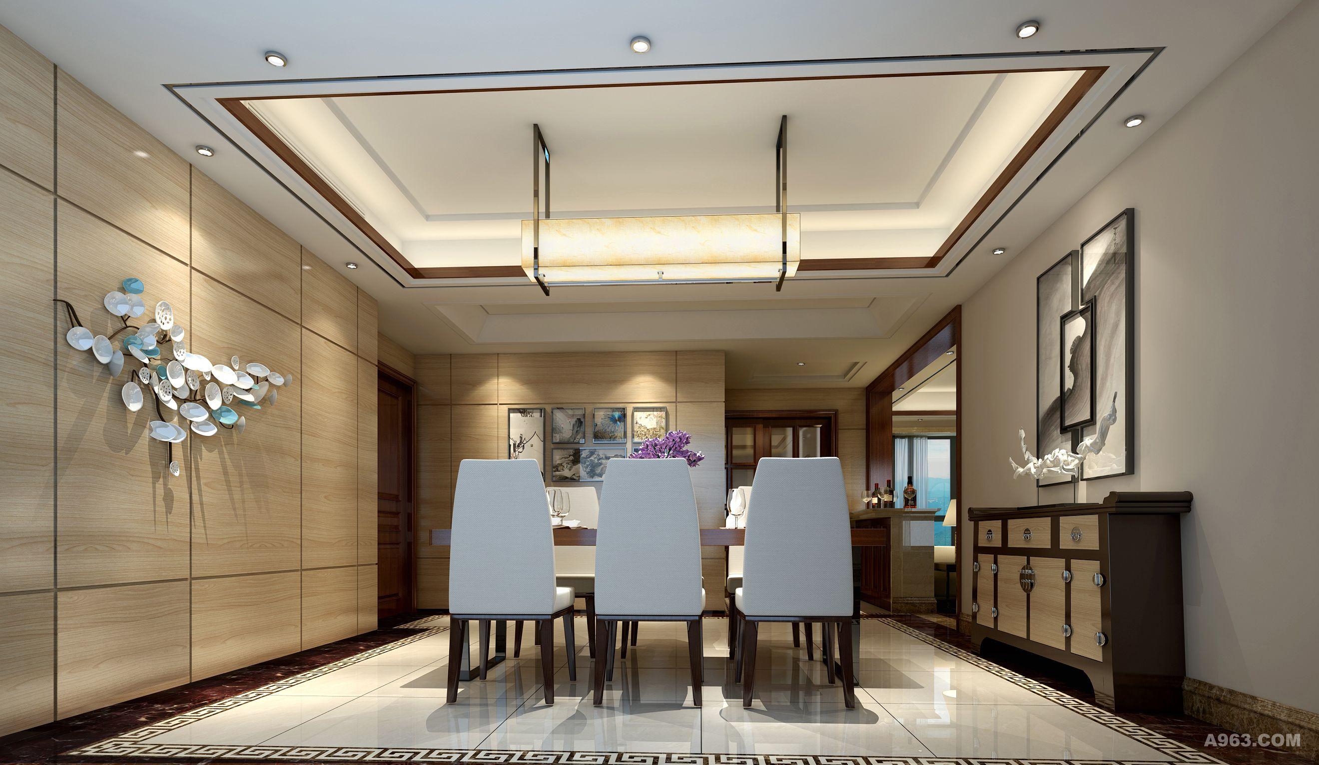 简约新中式 - 普通家装设计 - 朱正设计作品案例