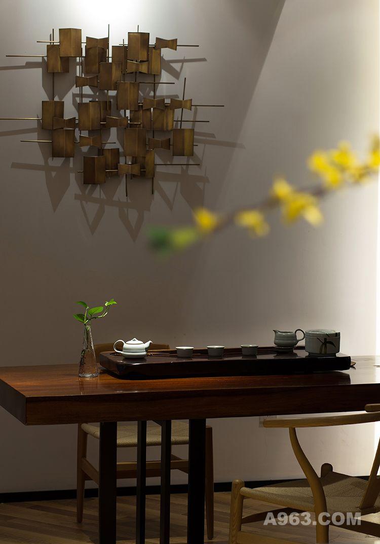 图三:朗昇建筑空间办公室设计-品茶区
