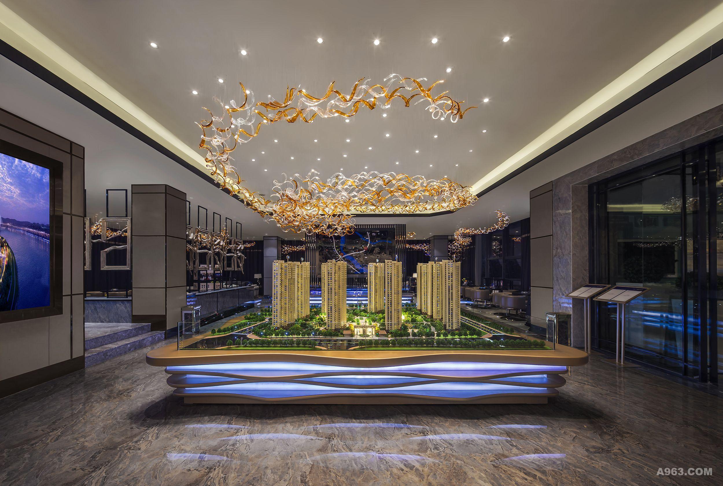 碧桂园·福州十里江湾售楼部 - 售楼处 - 方峻设计
