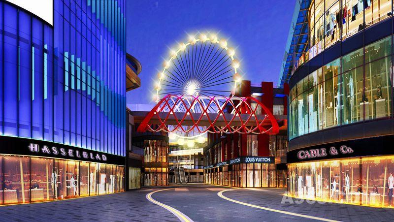 海洋主题商场设计——海洋城