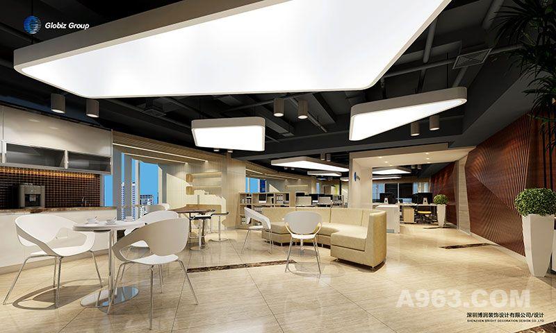深圳展厅装修设计美国ITW 深圳 索维思集团企业展厅设计