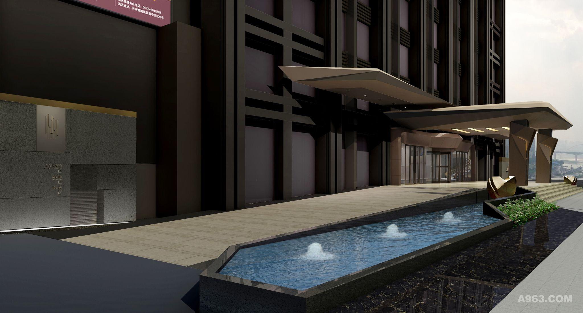 重庆美高梅大酒店室内设计