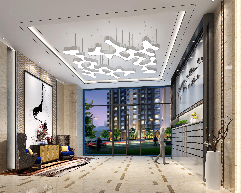 儒俊广场公共区域室内设计