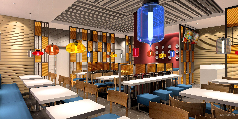 龙妈牛肉粉 - 餐饮空间 - 屈晓波设计作品案例图片