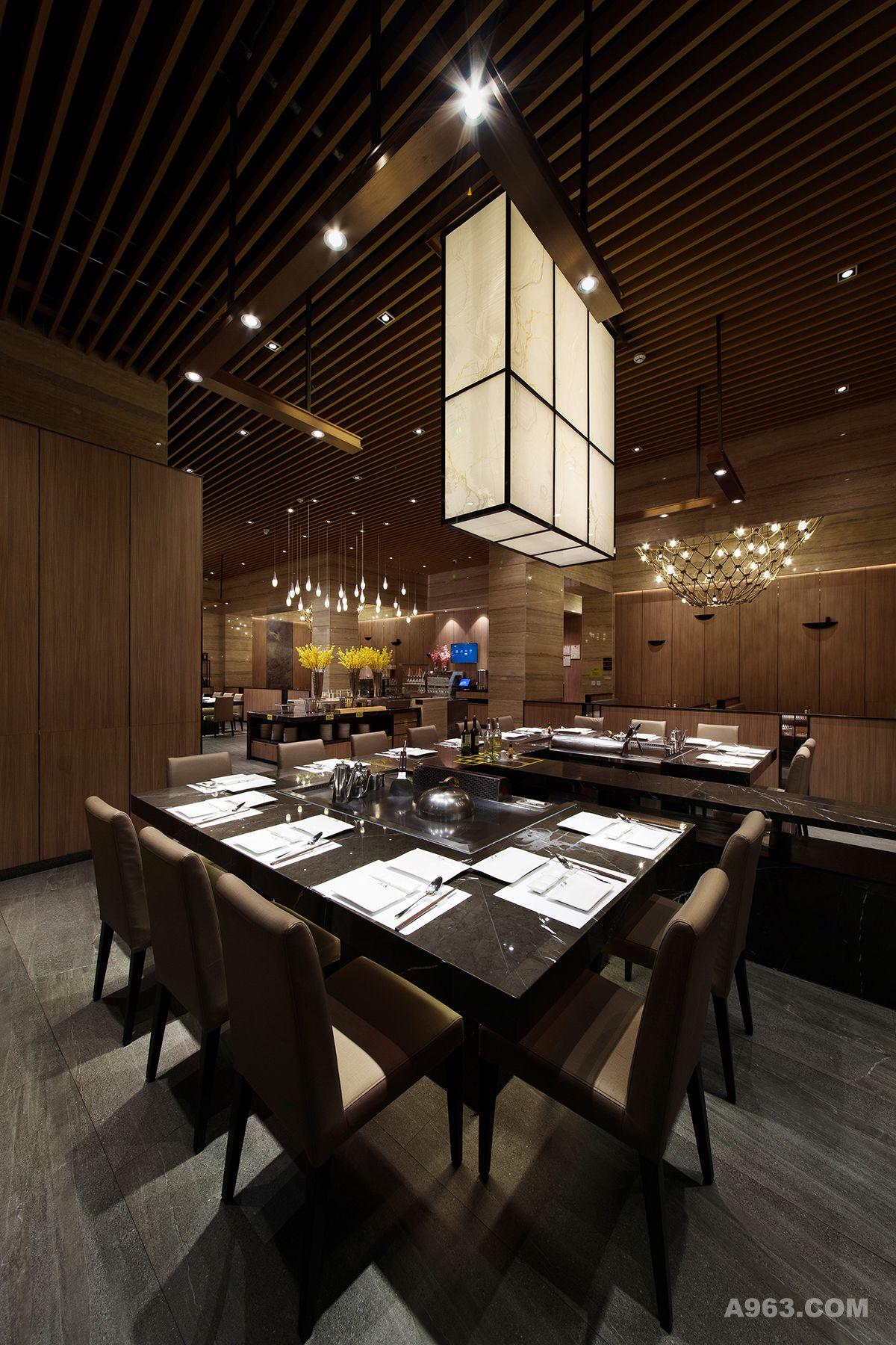 2大渔铁板烧(东莞)餐厅设计 -大堂设计1