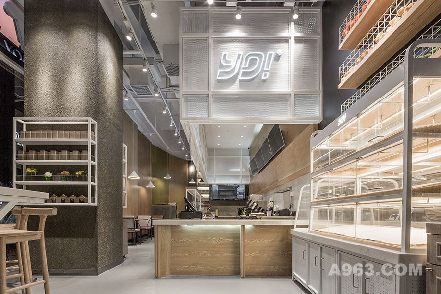 餐饮空间设计·yo!tea深圳海上世界店