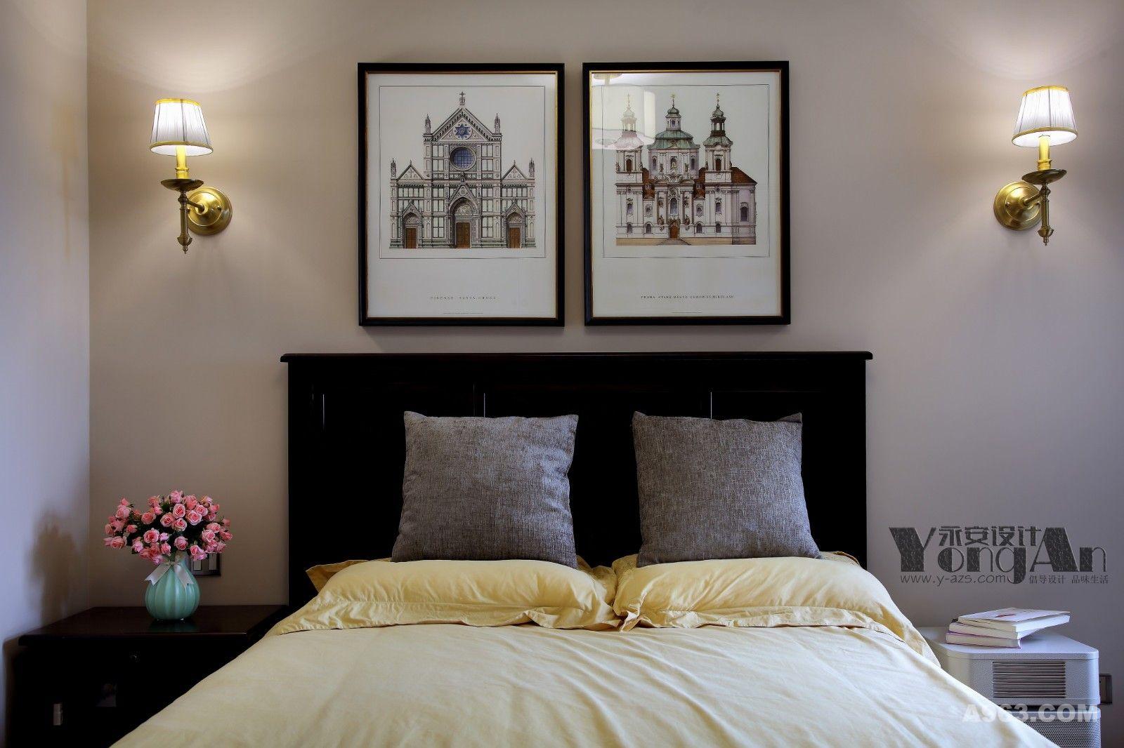 长辈房:不需要过多装饰,大气舒适最是平凡却悠长。