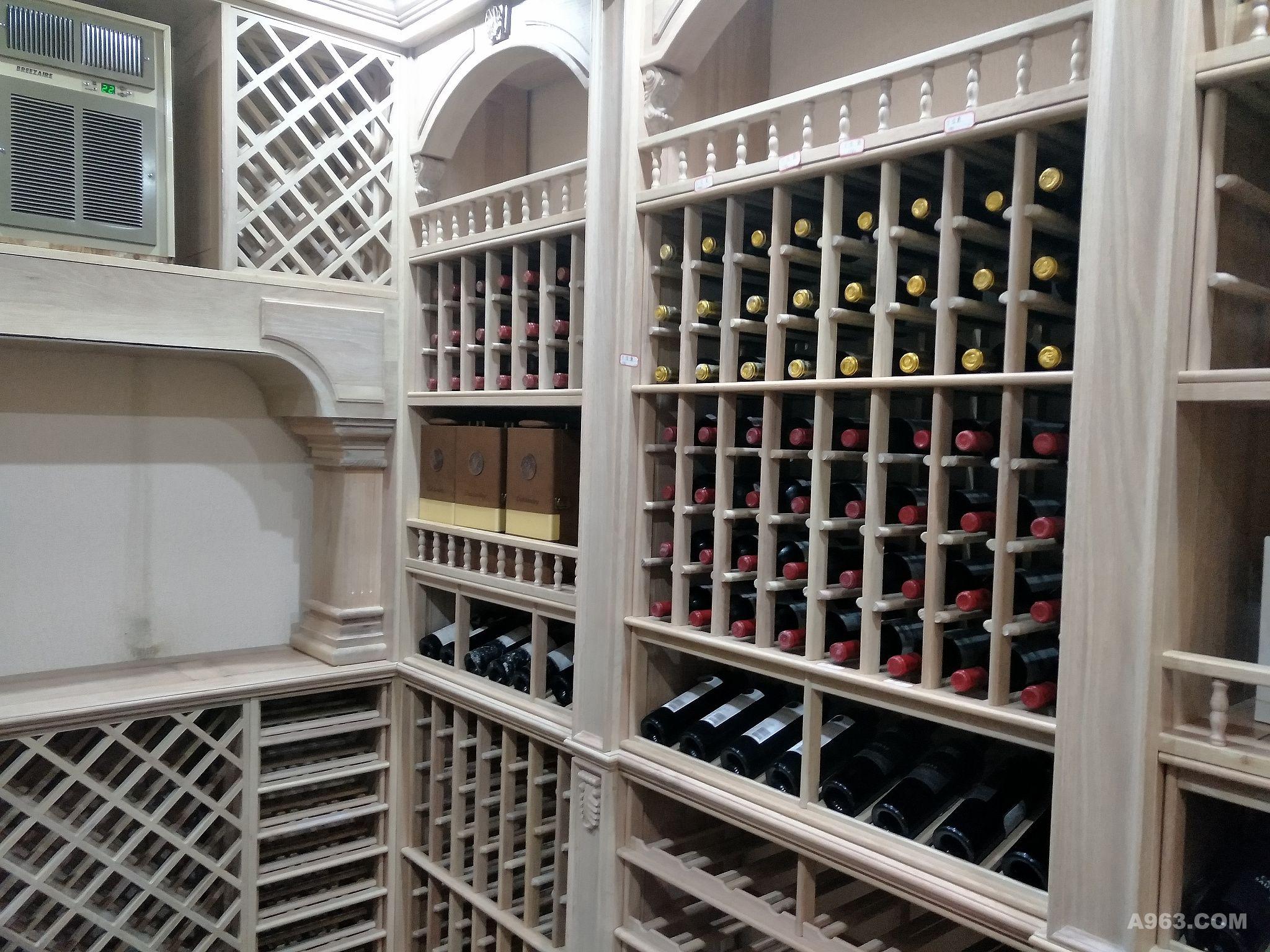 酒架酒柜壁