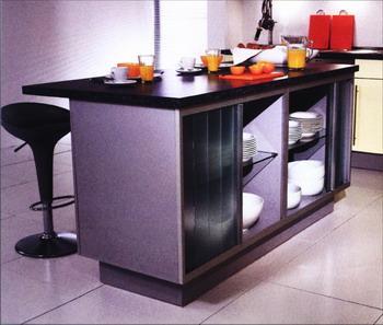 櫥柜:躲進柜子的廚房(圖) - 資訊中心 - 深圳室內設計